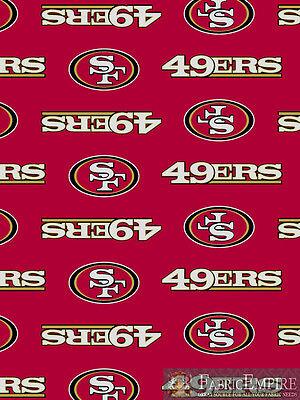 NFL Denver Broncos All Over Licensed Fleece Fabric NL-NFL-36-OT