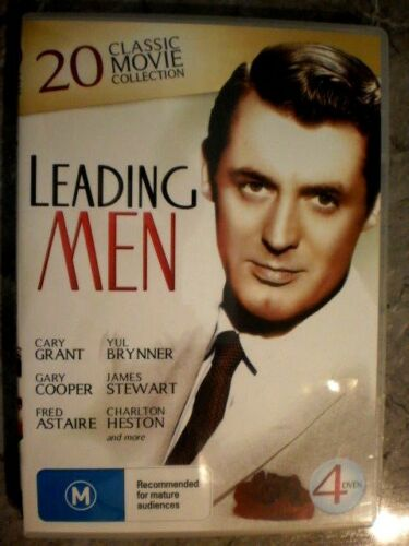 1 of 1 - Leading Men (DVD, Region 4, 4-Disc Set) GET4