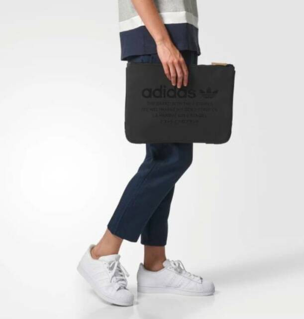 a375f3ce0f30 Adidas NMD Sleeve Bag Mini Messenger Flight Handbag Apple Macbook iPad Pro