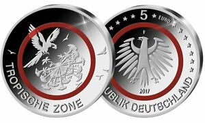 5-Euro-Gedenkmuenze-Tropische-Zone-Deutschland-2017-F-in-Kapsel-u-Tasche