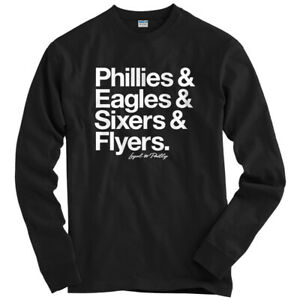 new styles 9cd03 4233c Details about Loyal to Philadelphia Long Sleeve T-shirt - LS Men S-4X -  Sports Fan Teams Gift