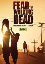 Fear the Walking Dead: Complete First Season 1 (DVD, 2015, 2-Disc) w/ slipcover
