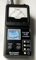 Comet Caa-500 Mark Ii 1.8-500 Mhz Graphic And Analog Antenna Analyzer