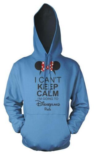 Minnie I Can/'t Keep Calm I/'m Going To Disneyland Paris Kids Hoodie