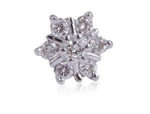 Pave-0-20-Cts-Runde-Brilliant-Cut-Natuerliche-Diamanten-Nase-Stud-In-750-18K-Gold