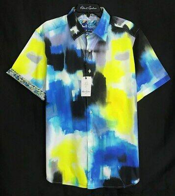 Robert Graham Mens Altlantis Short Sleeve Classic Fit Shirt