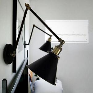 Swing-Arm-Wall-Lamp-Indoor-Wall-Lights-Kitchen-Black-Wall-Lighting-Wall-Sconce