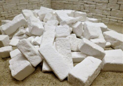versch Ruinen Bausteine 144 St Größen neuer Entwurf !! Systemmauersteine