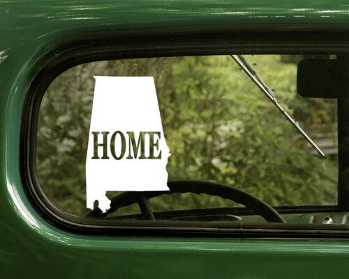 2 ALABAMA MAP DECALs Home Sticker For Car Truck Laptop Rv Window Bumper