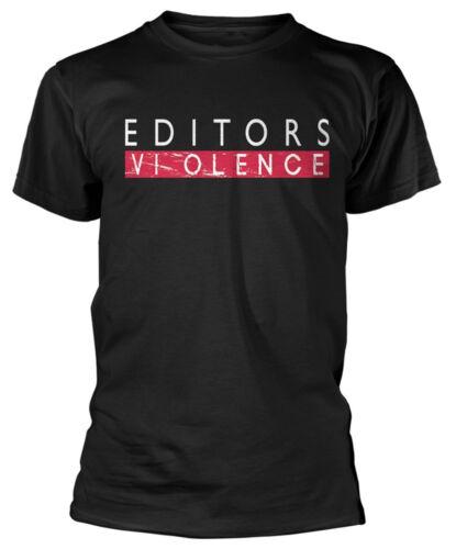 Editors /'Violence/' T-Shirt NEW /& OFFICIAL!