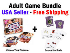 Choose Your Pleasure And Sex On The Brain - Adult Games For Couples - Bundle