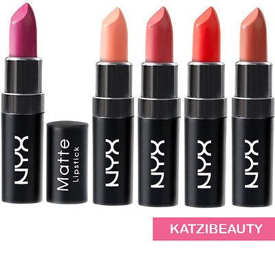 4 NYX matte lipsticks -Pick Any 4 Colors