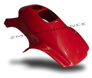 NEW HONDA TRX 300EX FIGHTING RED PLASTIC CUSTOM REAR FENDER PLASTICS