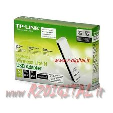PENNA USB 2.0 TP-LINK TL-WN727N WIFI 150 MEGA MBPS WIRELESS B G N SCHEDA DI RETE