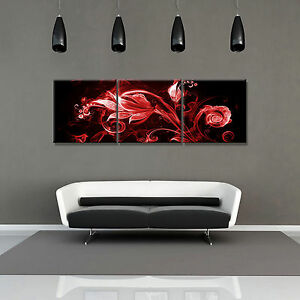 Details About Abstract Ready To Hang 3 Pc Mounted Picture Wall Artsurpassed Stretched Canvas