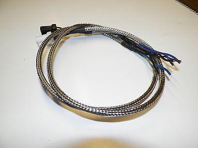 Harley 18X24 OEM 6 wire custom stainless braided TURN SIGNAL wiring harness  | eBayeBay