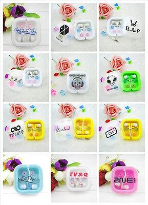 K-POP Headset B.A.P 2PM EXO Bigbang Headphone SJ TVXQ FT 2NE1 SNSD Earphone Gift