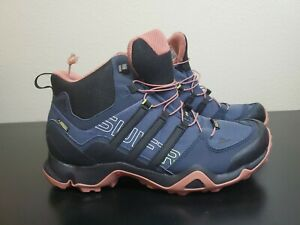 Details about Adidas Terrex Swift R Mid GTX Hiking Boots $199 - Womens Size 10 - Broken Lace