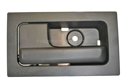 Interior Inner Inside Door Handle Black with Manual Locks Driver Side Front