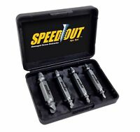 Speed Out As Seen On Tv Damaged Screw Remover Extractor Tool 4 Pc Speedout