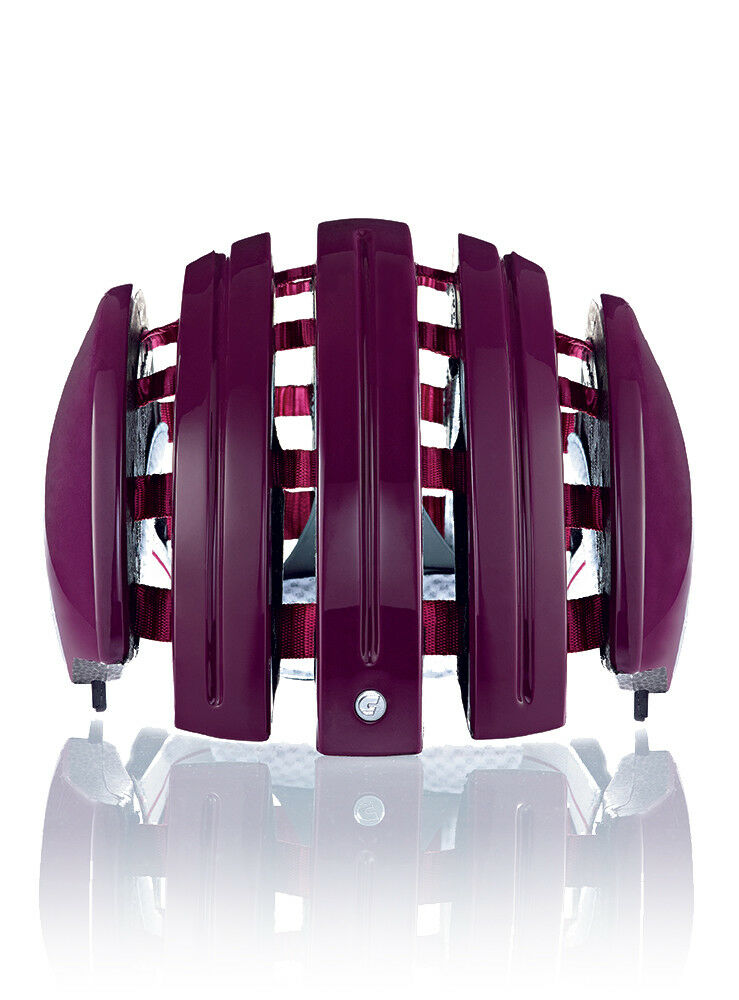 Carrera Fahrradhelm  FOLDABLE_C purple  Unifarben waschbare Innenpolster  top brands sell cheap
