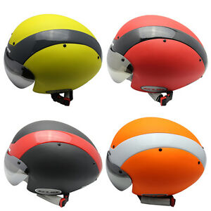 GUB Road Bike Racing Helmet Bicycle Cycling Goggles Ultralight With UV Visor New