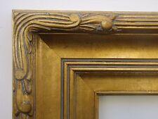 Wide Gold Plein Air Art Deco Antique Style Landscape Canvas Picture Frame 9x12