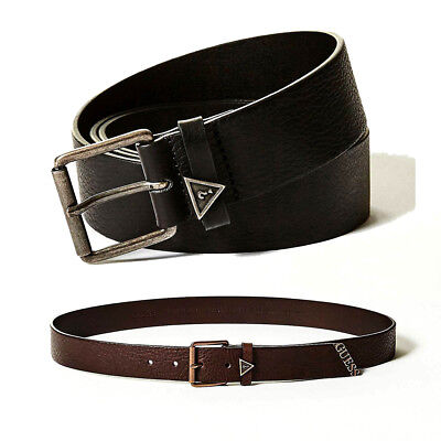 comprare popolare a181b 622f2 GUESS LOGO Men Belt Real Leather Buckle Belt Boy Waistband ...