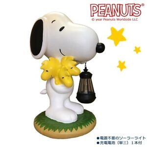 Ordinaire Details About Snoopy Peanuts Led Solar Light Garden Yard Object Ornament  Statue Woodstock New