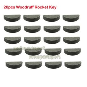 Woodruff-Rocket-Key-For-Chinese-47cc-49cc-Mini-Moto-Dirt-Pocket-Bike-ATV-Quad