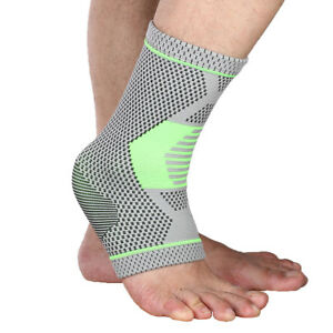848fe204bb Image is loading Breathable-Adults-Ankle-Brace-Compression-Support-Sleeve- Braces-