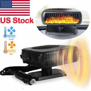 150W Electric Car Heater 12V DC Heating Fan Defogger Defroster Demister Portable