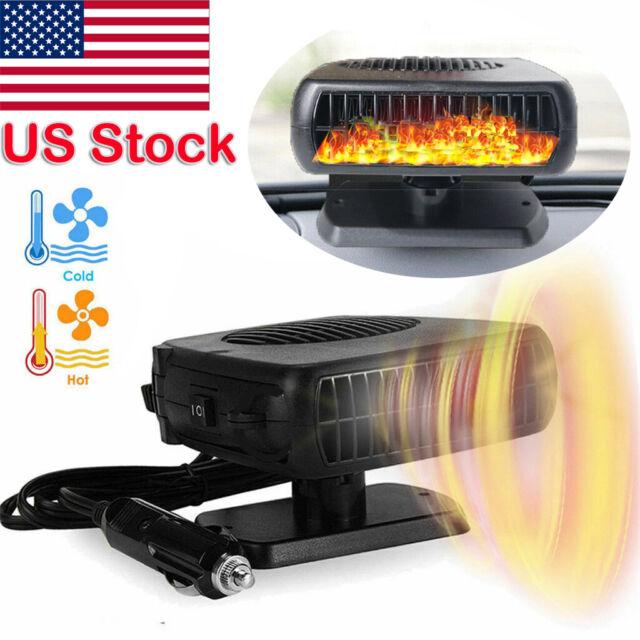 Upgrade 2in1 12V portable car heating cooling fan heater defroster demister N es