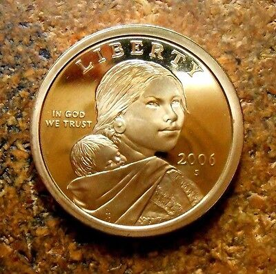 2006-S Sacagawea Golden Dollar Gem DCAM Proof  A Stunning Coin