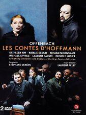 Les Contes d'Hoffman (Gran Teatre del Liceu) (DVD, 2014, 2-Disc Set) N.Dessay