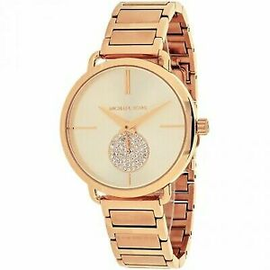 25de5a97e59f Michael Kors Women s Portia Rose Gold-tone Watch MK3640 for sale ...
