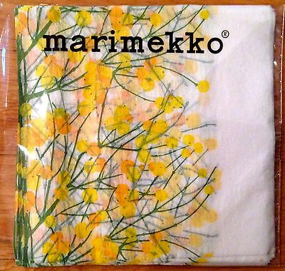 Marimekko coffee delicatessen napkins, 20 counts, 24x24 cm, Lumimarja , Finland
