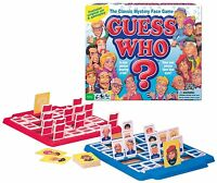 Classic Guess Who Mystery Face Board Game Hasbro Original Names Sealed