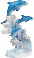 Marine Life Three Dolphin Design Figurine Statue Decoration Collection, New, Fre on sale