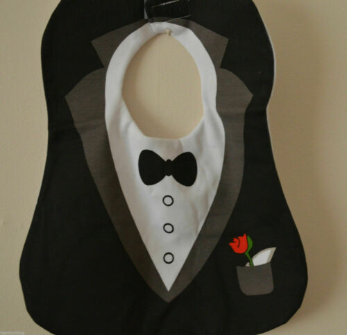 SPECIAL OCCASION BABY BIB BOYS SELECTION//WEDDING//TUXEDO