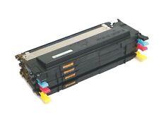 4 Color Toner Cartridge Set for Samsung CLX-3170 CLX-3175FN CLX-3175FW Printers
