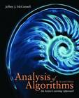 Analysis of Algorithms: An Active Learning Approach by Jeffrey J. McConnell (Hardback, 2007)