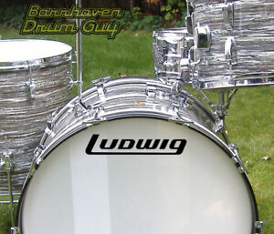 Ludwig-70s-2-Vintage-Repro-Logo-Adhesive-Vinyl-Decal-for-Bass-Drum-Head