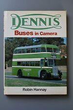 Dennis Buses in Camera, Robin Hannay, Bus History, Hardback