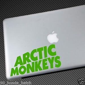 ARCTIC MONKEYS VINYL STICKER DECAL shirt cd domino AM ...