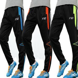La imagen se está cargando Hot-Para-Hombre-Pantalones-Ajustados -De-Futbol-Entrenamiento- 6c8a2618811b