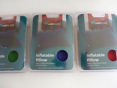 Umoristico Cuscino Gonfiabile Piccolo Compatto E Leggero 40 X 30cm Blu, Verde O Rosso-mostra Il Titolo Originale