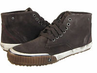 Diesel Mens Trackay Mudd Brown Casual Lace-Up Mid Fashion Sneakers Shoes Kicks