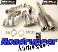 Milltek Exhaust Manifolds Golf R32 MK4 FREE FLOW & Sport Cats SSXVW072, SSXVW073