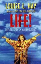 LIFE! Reflections on Your Journey Hardcover book by Louise L. Hay  FREE SHIPPING